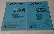 Werkstatthandbuch Citroen Xsara 2 Elektrik Schaltpläne Band 1 + 2 Stand 07/2001