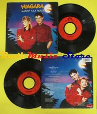 LP 45 7'' NIAGARA L'amour ala plage Les amants 1986 france POLYDOR no cd mc dvd