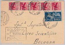 57129 - REPUBBLICA - STORIA POSTALE: ESPRESSI su BUSTA  1946