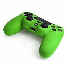 Sony PlayStation 4 Green Controllers and Attachments