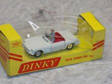 Vintage Dinky Toys 1:43 Scale #113 M.G.B. Sports Car Toy Car IN BOX