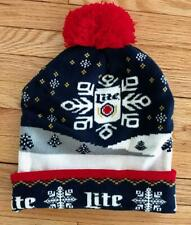 Miller Lite Beer Holiday Knit Cap  NEW