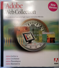Adobe Web Collection for Windows - 27570063 - Photoshop, Illustrator, GoLive +