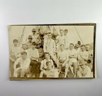 Vintage Post Card Photo 1920's Military Original Unused