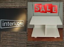 Interlübke-Nachttisch(Designklassiker in weiß, 100% Original) +Winter Rabatt%