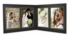 Cardboard Photo Folder For 4 4x6 Photo (Pack of 50) GS019 Black Color