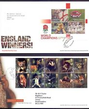 Nice Lot of 6 First Day covers from the 2000's England World Champ  etc    (ZB1)