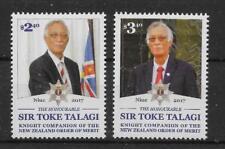 NIUE 2017 SIR TOKE TALAGI SET MNH