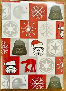 New Star Wars Christmas Wrapping Paper (2 Sheets Only) 50 x 70cm each