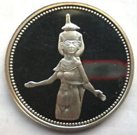 Egypt 1993 Guardian Goddess Serket 5 Pounds Silver Coin,Proof