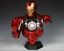 Iron Man 6 Mark6 Mk6 Avengers Tony Stark Bust Statue 1/2 Scale Hot Replica-NEW