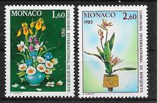 Pa200 FLEURS/Monaco MiNr 1558/59 **
