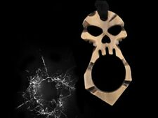 1pcs Skull Self Defense Weapons Keychain Portable Emergency Survival Tool NEW