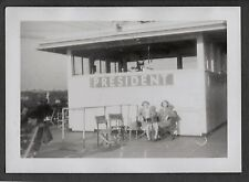 1946 NEW ORLEANS LOUISIANA MISSISSIPPI RIVER PRESIDENT FERRY TOURIST BOAT PHOTO