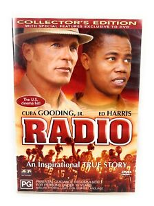 Radio (DVD, 2004) Cuba Gooding Jr Rare Region 4 Free Postage