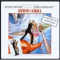 A VIEW TO KILL  CD OST NEW JAMES BOND SOUNDTRACK