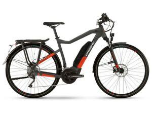 Haibike Trekking S 9 500Wh 2021 E-Bike Pedelec anthracite red frame size 56cm