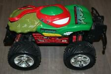 TYCO R/C NINJA TURTLES MONSTER JAM REMOTE CONTROL TRUCK 27 MHz RAPHAEL TOY 2004
