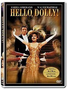 Hello Dolly DVD Barbra Streisand Walter Matthau Danny Lockin UK Brand New R2
