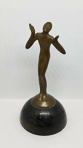 Antique Vintage Small Bronze Sculpture