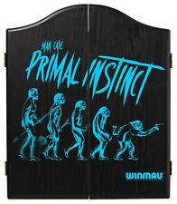 Winmau Man Cave Primal Instinct Wooden Dartboard Cabinet