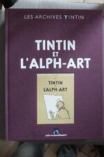 BD les archives tintin et l'alph-art hergé TBE 2012