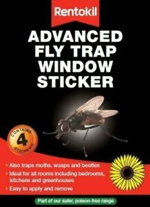 Fly Stickers Traps Sunflowers Catchers Wasps Been Insects Repels - Rentokil