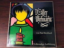 Paul Burkhard Die Zaller Wiehnact 2 Vinyl Records LP NM
