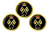 Mer Cadets SCC Signaux Badge Marqueurs de Balles de Golf