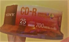 Sony CD-R Recordable Disk (black cds)