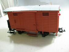 830| Spur G LGB Güterwagen 4030 - mit eingebautem Licht - ansehen