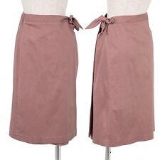 Jocomomola Stretch wrap skirt Size 40(K-46841)