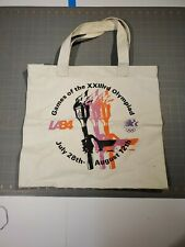 """Vintage 1984 Los Angeles Games Of The XXIIIrd Olympiad Bag 16"""""""