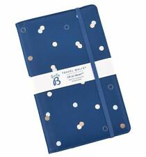 Busy B Oh So Clever Rose Gold Polka Dot Travel Wallet - Family Gift Idea