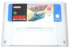 F Zero-Juego Super Nintendo SNES-Versión PAL
