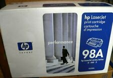 HP 92298A Black Toner Cartridge 98A Genuine New