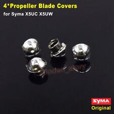 Original 4PCS Blade Propeller Silver Cover Cap Syma X5UC X5UW RC Drone Parts