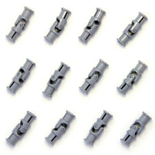 Lego 12x Technic Grey Universal Joints Connector Coupler - 61903 4525904 - NEW