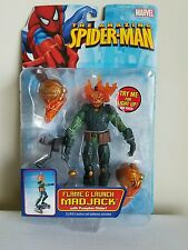 ToyBiz AMAZING SPIDER-MAN Classic Series 18 FLAME N LAUNCH MAD JACK NIP