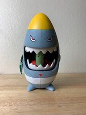 """Frank Kozik ToyQube Rare HTF 8"""" Anarchy Sharky LE"""
