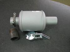 Wisconsin Engine Muffler WD111AS1 style for V465D fits 2 inch pipe READ AD!!