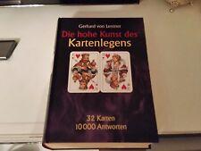 Die hohe Kunst des Kartenlegens. Das Kartenlege- Lexikon. 10 000 Antworten Lentn