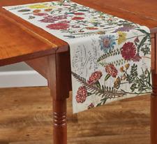 "GARDEN BOTANIST Floral 13""x36"" Table Runner by Park Designs"