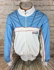 Vintage Lotto Track Jacket Tracksuit Top Blue Italia Sz Large / L Mens