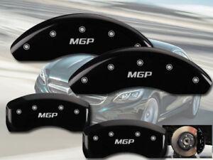 2006-2007 Mercedes Benz C350 Sedan Front Rear Black MGP Brake Disc Caliper Cover