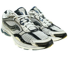 SAUCONY ProGrid Omni 7 Mens White Black Mesh Uppers Running Shoes Sneakers 9