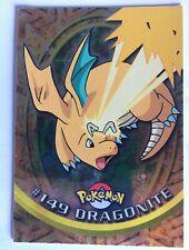 Carte Pokemon Topps Dragonite N°149 Neuf Holo , 2ème Serie de 1999