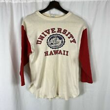Vintage Champion 1960s T-shirt University Of Hawaii