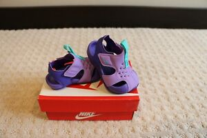 Nike Sunray Protect 2 (TD) Baby Sandals size 2c New in box  $36  purple