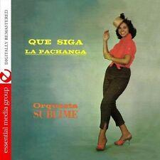 Orquesta Sublime - Que Siga la Pachanga [New CD] Manufactured On Demand